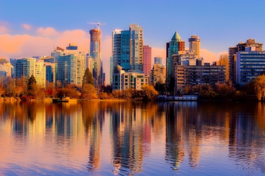Vancouver, beautiful places in Canada