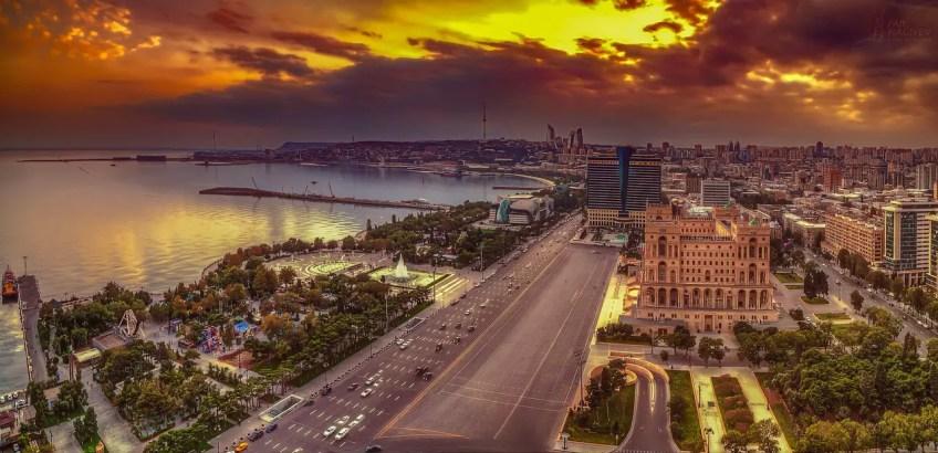 City of Baku Azerbaijan