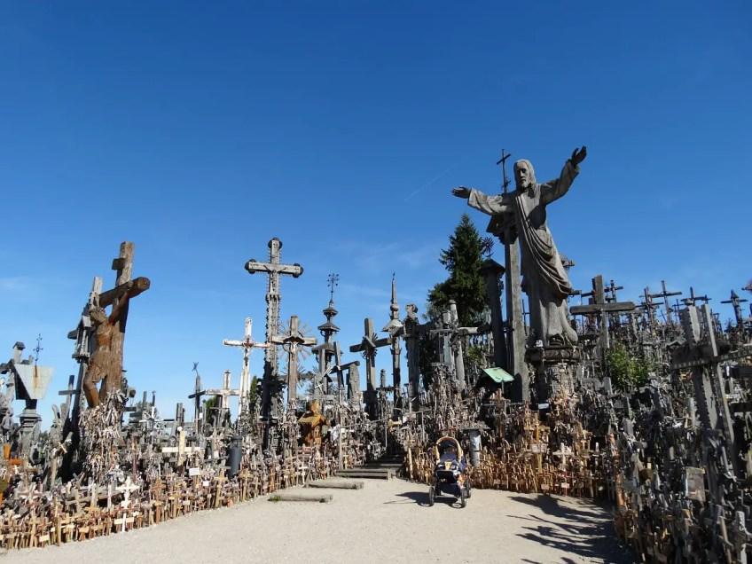 hill of crosses, Šiauliai, lithuania