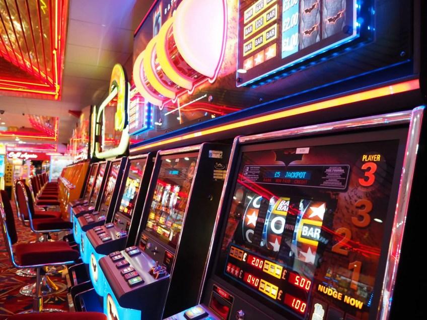 modern slot machines, arcade slots