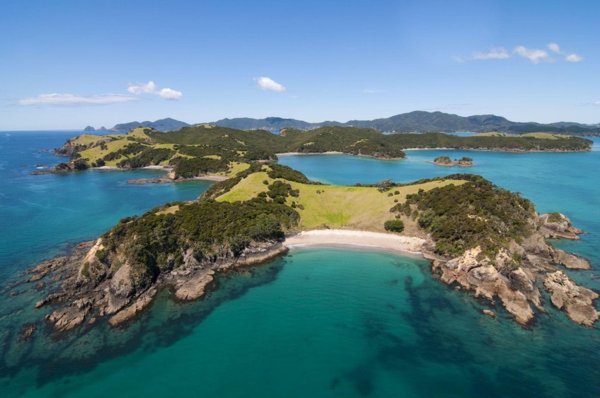 Bay of Islands New Zealand, sailing in New Zealand