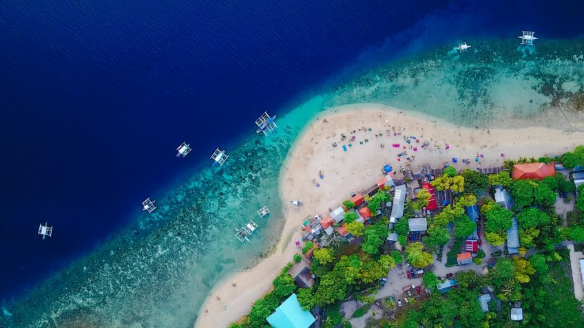 Boracay is an island situated in the Western Visayas region of the Philippines