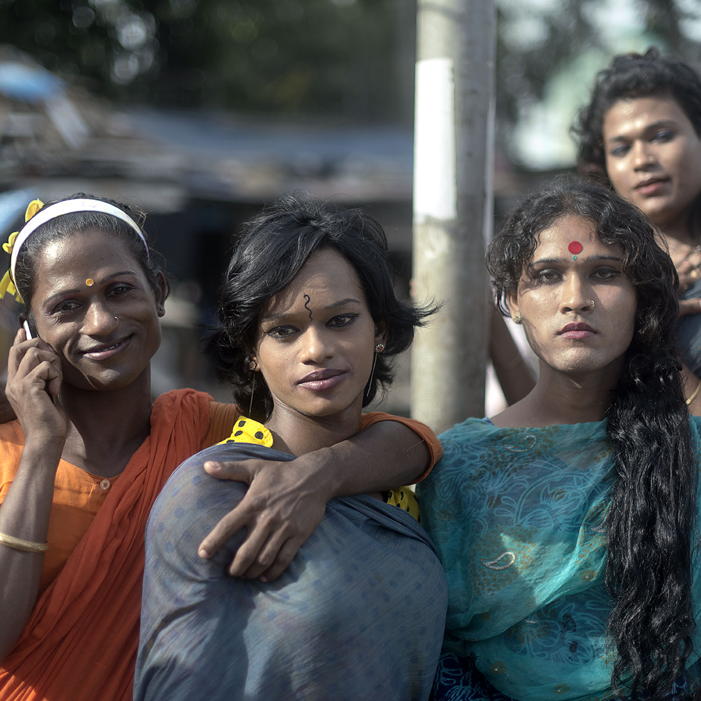 Hijras  Dhaka, Bangladesh   The Faketory Art Studio