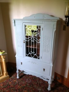 China Cabinet in Robin Egg's Blue