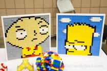 The Family Guy and Simpsons Mosaics by Evyn Barron