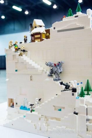 Our LEGO Winter Village MOC-0483