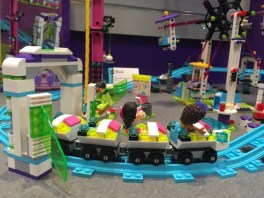 LEGO Friends Amusement Park Roller Coaster