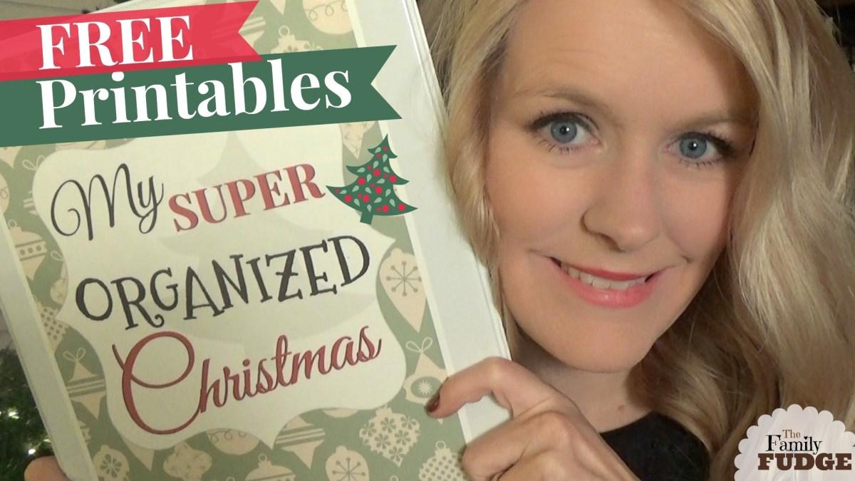 Super Organized Christmas Planner