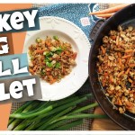 TURKEY EGG ROLL SKILLET || Healthy & Trim Recipe