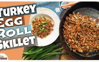 TURKEY EGG ROLL SKILLET || Healthy & Trim Recipe