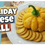 pumpkin shaped cheese ball