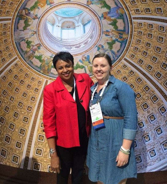 The author with Carla Hayden, Librarian of Congress