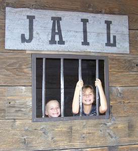 Kids in jail by pagetx at Flickr.