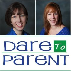Amy Ambrozich and Leslie Quickel from www.daretoparent.com
