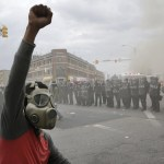 Baltimore Riots by Patrick Semansky at the Associate Press