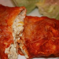 Goat Cheese Enchiladas