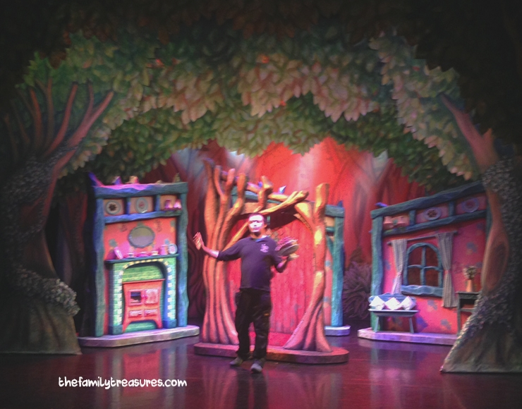 backstage tour goldilocks and the three bears northern ballet