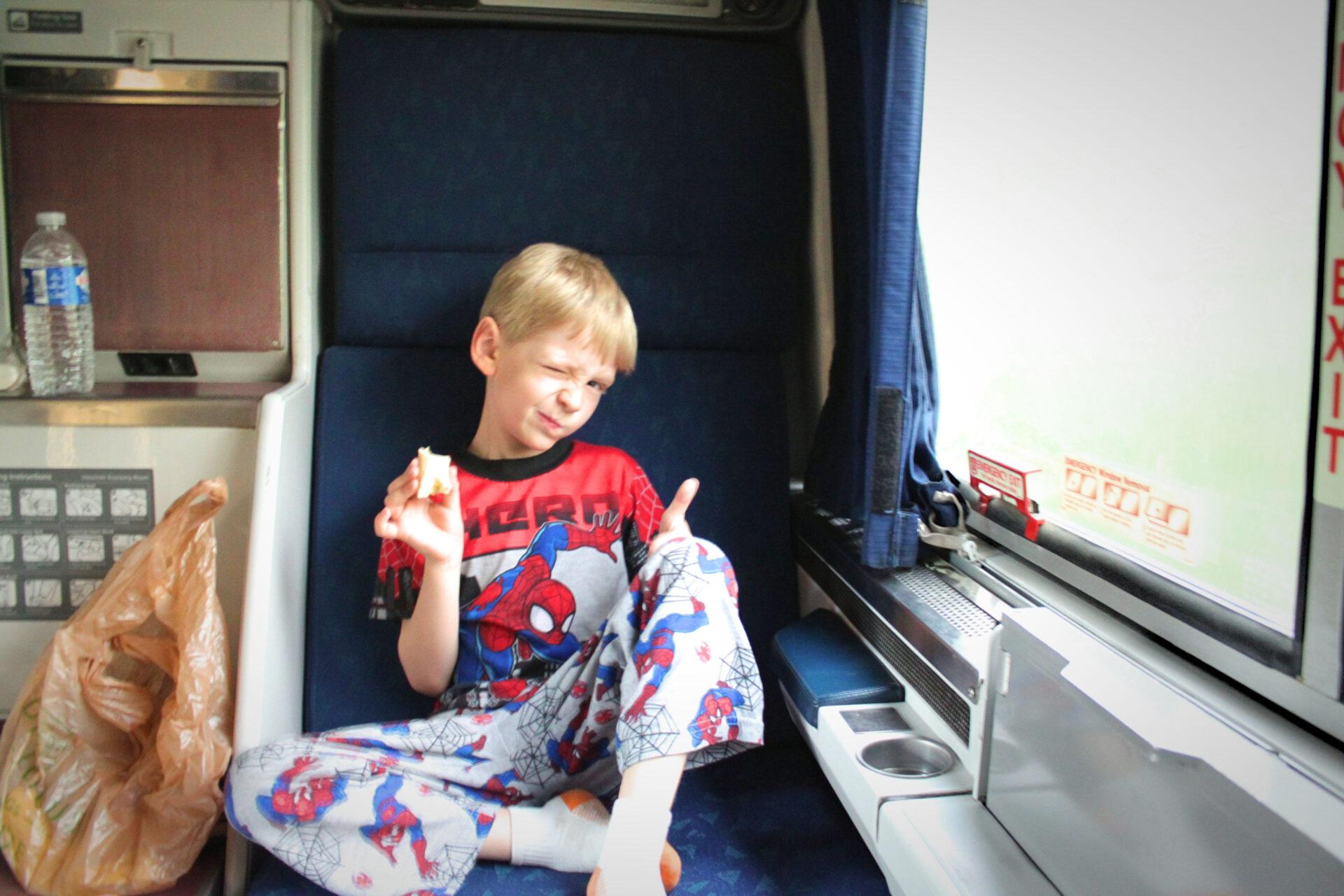 Amtrak Roomette Family Travel