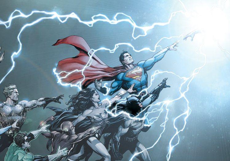DC Universe Rebirth by Gary Frank thumb