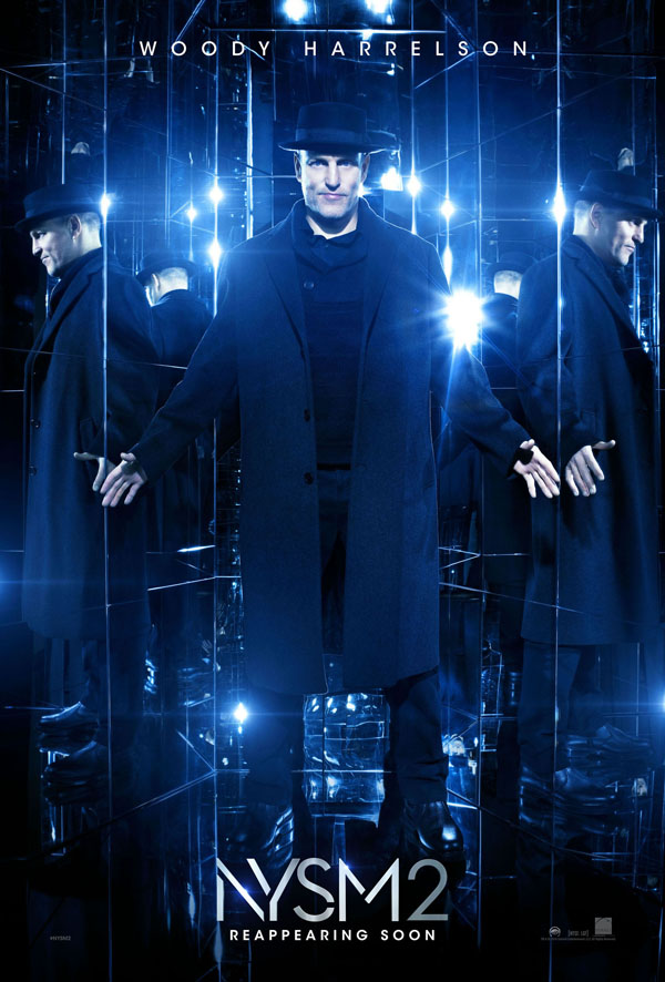 woody harrelson now you see me 2 poster
