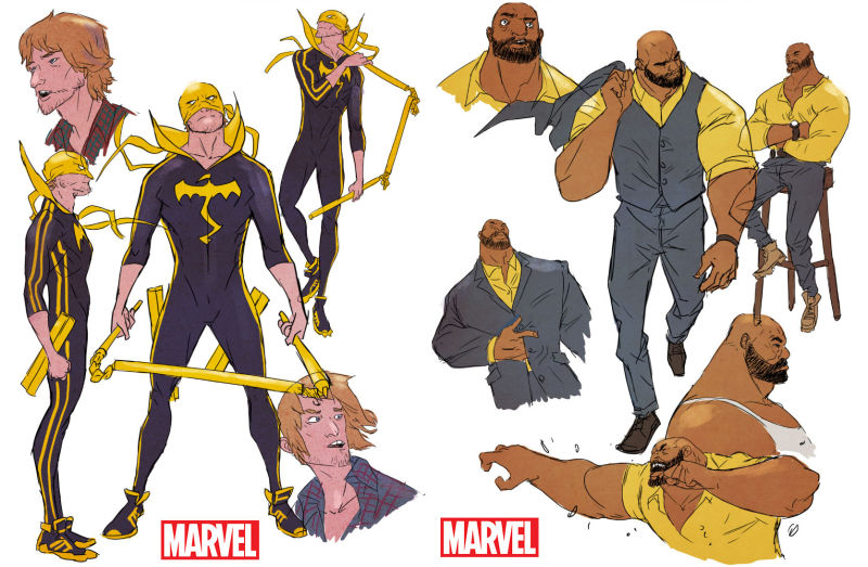 all new all different marvel iron fist and power man