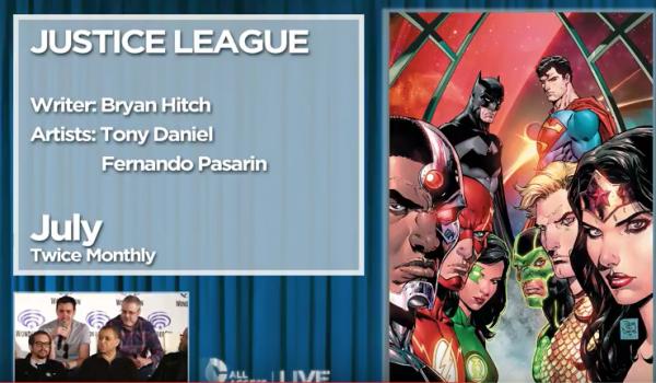 dcrebirth justice league