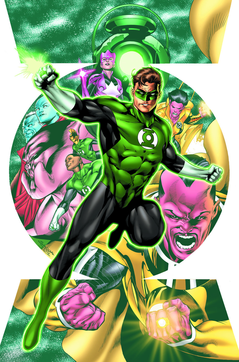 hal jordan and the green lantern corps # 1