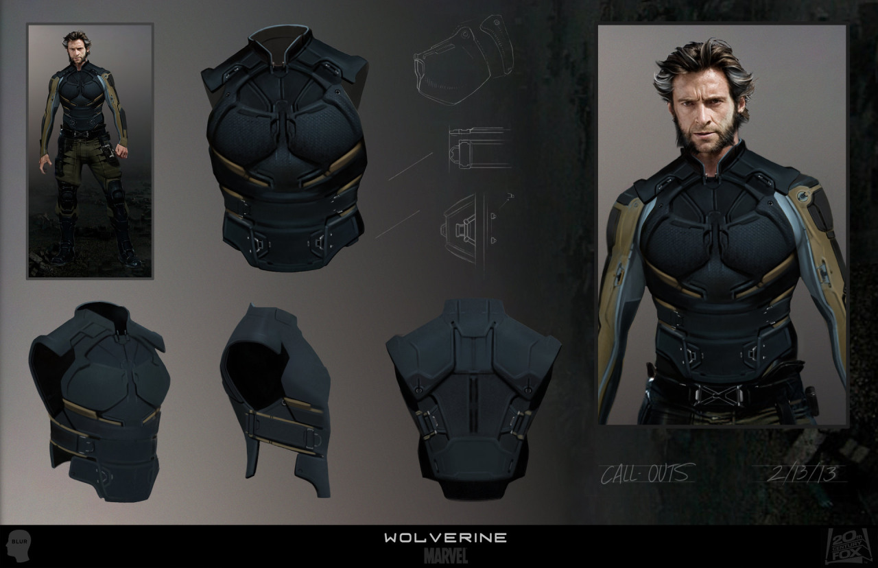 x-men days of future past wolverine concept art joshua james (3)