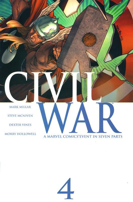 Civil War #4 00