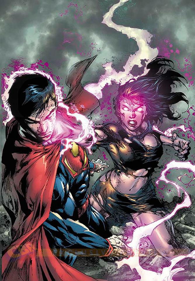 new 52 lois lane vs superman in superman doomed