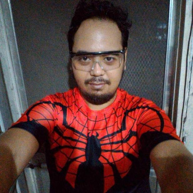 select start superior spider-man compression shirt