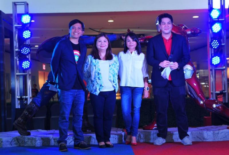 (Left to right) Chico Garcia; Nicole Deato, AVP for Cinema & Exhibition and Digital Media, SM Lifestyle Entertainment, Inc.; Anna Driz, Head of Marketing, Disney Media + Philippines; Gino Quillamor