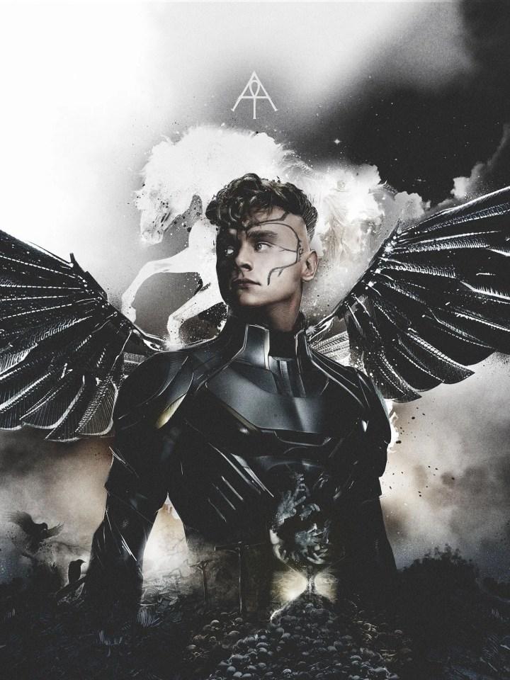 x-men apocalypse four horsemen archangel