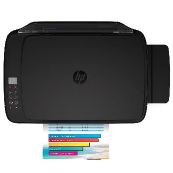 The HP DeskJet GT 5820 All-in-One printer boasts of scan, copy, and wireless print functions that enable users to print from anywhere using their mobile devices.