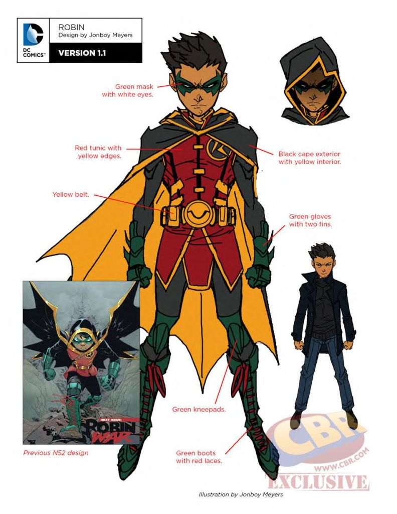 dc rebirth teen titans robin