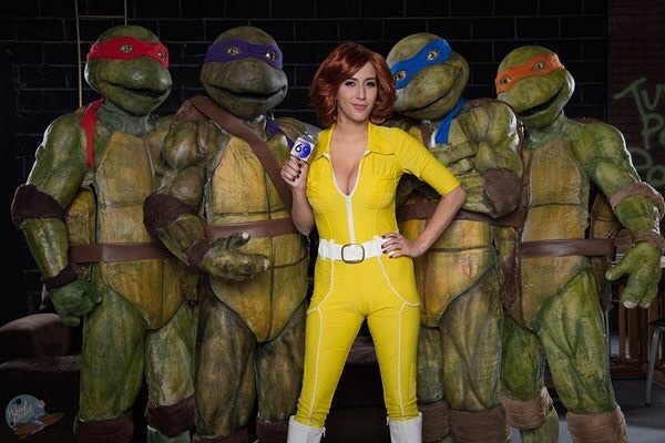 Ten inch mutant ninja turtles