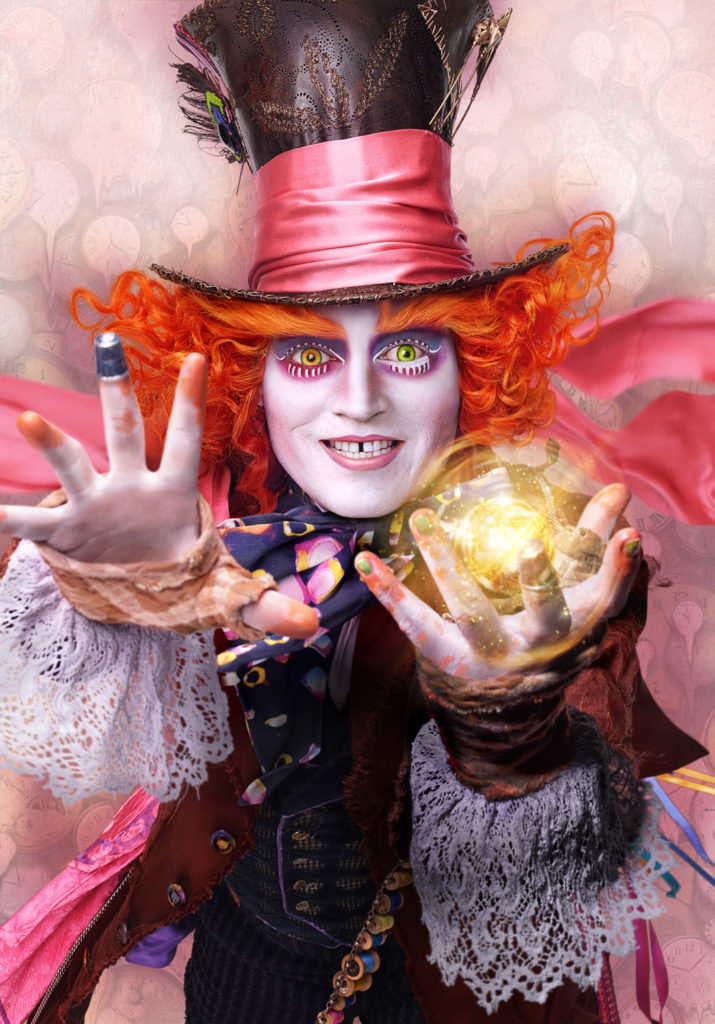 alice through the looking glass mad hatter