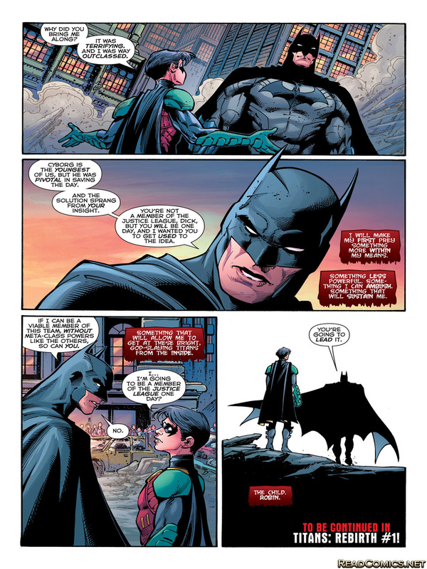 justice league 51 spoilers batman and robin