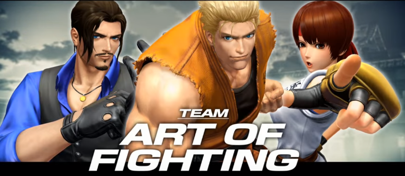 king of fighters XIV team art of fighting