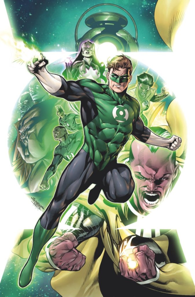 Hal Jordan and the Green Lantern Corps DC Rebirth Panel SDCC 2016 (4)