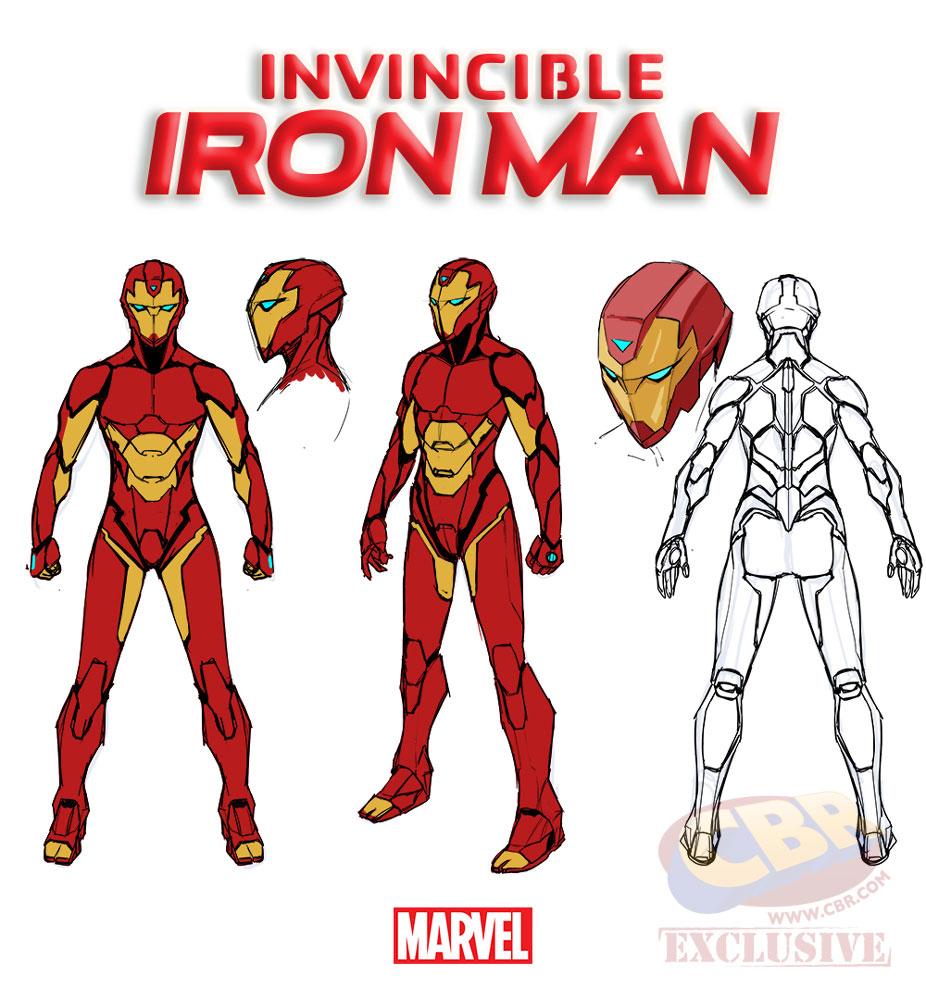 riri williams marvel invincibile iron man