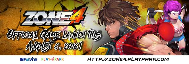 Zone4 official game launch on August 8
