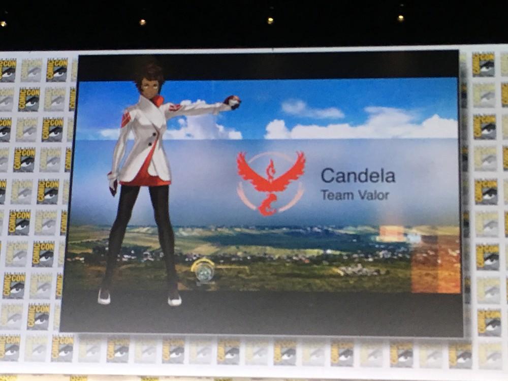 candela team valor pokemon go