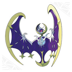Lunala for Pokemon Moon
