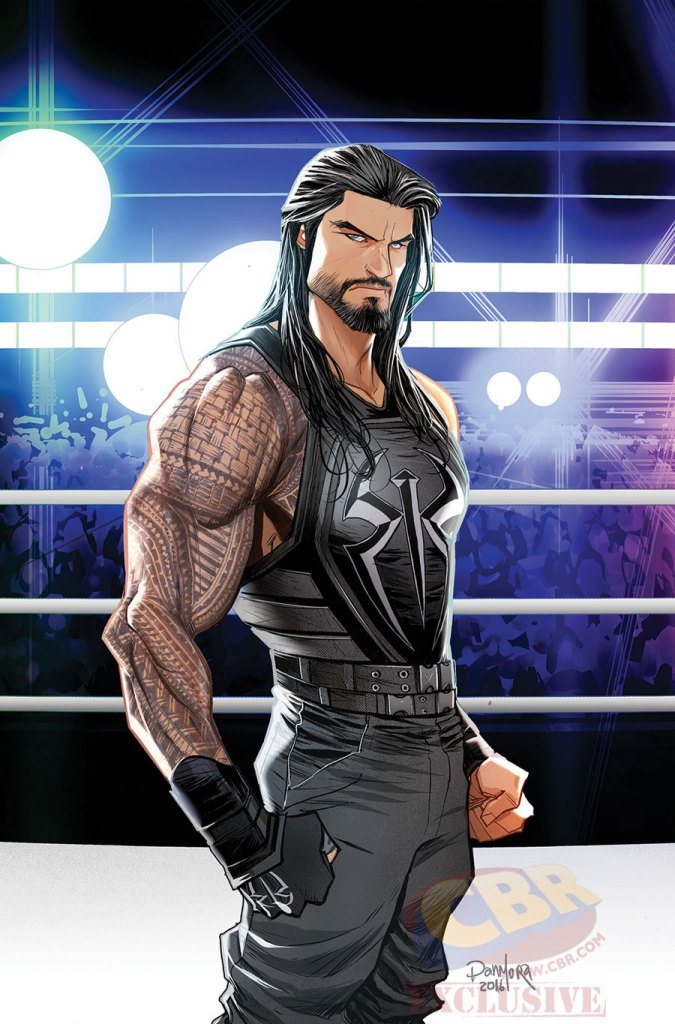 boom studios wwe then now forever #1 roman reigns