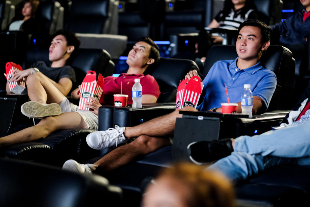 Dolby Atmos Recliner seats at U P Town Center