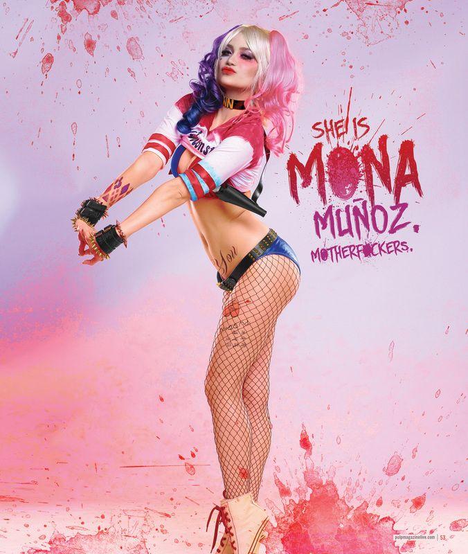 Arci Munoz as Harley Quinn, photo by Mark Terrence Sy
