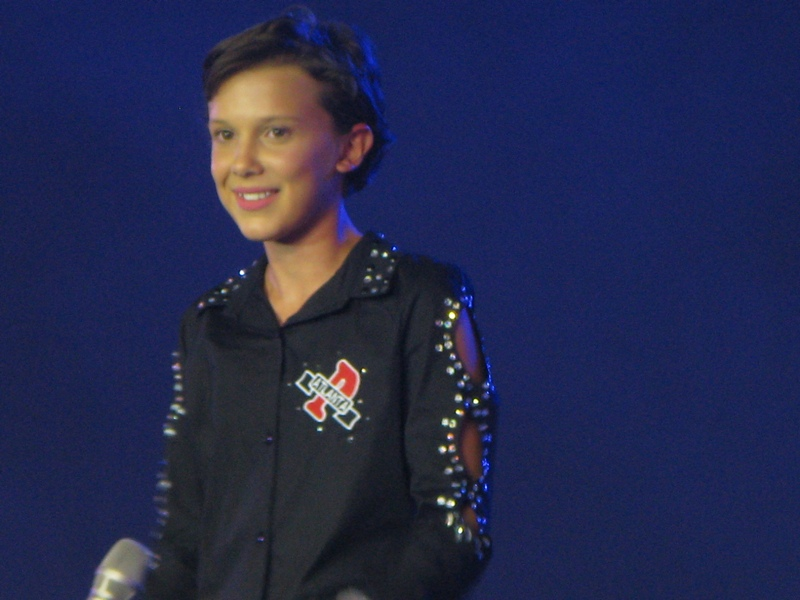 asiapop comicon 2016 millie bobby brown main stage day 2 (3)