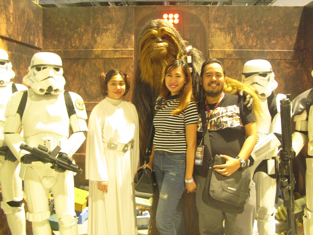 asiapop comicon 2016 cosplay star wars make a wish foundation