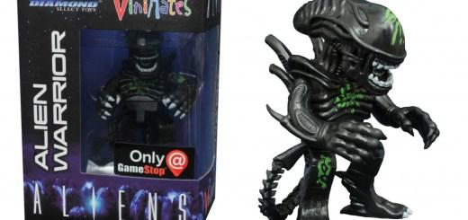 gamestop exclusive alien warrior vinimates